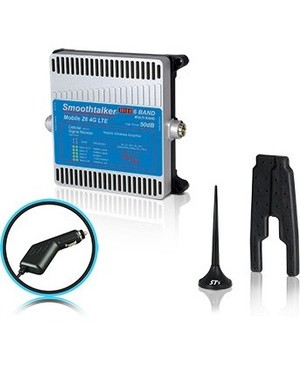 Smoothtalker MOBILE Z6 50 3 MAG ANT HIGH WRLS CELLULAR SIGNAL BOOSTER 3IN