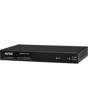 AMX Minimal Proprietary Compression Video Over IP Encoder with PoE, AES67 Support - Functions: Video Encoding, Video Scaling, Audio Embedding - 1920 x 1200 - VGA - Network (RJ-45) - Surface-mountable, Wall Mountable, Rack-mountable ENCODER