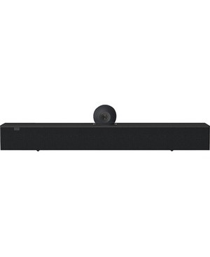 AMX Acendo Vibe ACV-5100BL Bluetooth Sound Bar Speaker - 10 W RMS - Black - Wall Mountable - USB - HDMI CONFERENCING SOUND BAR WITH CAMERA