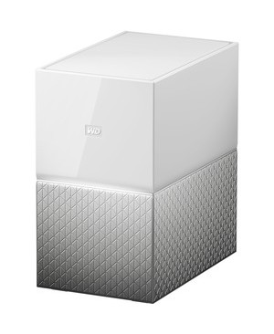 Western Digital - Content Solutions 8TB MY CLOUD HOME DUO PERSONAL CLOUD STORAGE NAS