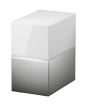Western Digital - Content Solutions 4TB MY CLOUD HOME DUO PERSONAL CLOUD STORAGE NAS