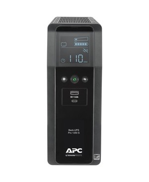 Apc Schneider Electric It Container BACK UPS PRO BR 1350VA SINEWAVE 10OUT 2 USB CHARGING PORTS