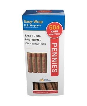 Royal Sovereign International 504 PENNY/PK PREFORM WRAPPERS FEDERAL RESERVE & ABA COMPLIANT