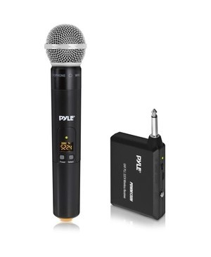 Pyle - Pro Sound WRLS MICROPHONE SYST HANDHELD MIC W/ 1/4IN TRANSMITTER