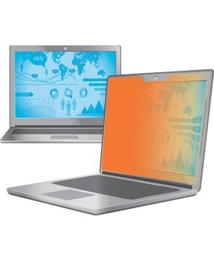 3M - Optical Systems Division GOLD PRIVACY FILTER FOR 14.0IN WS 16:9 TOUCH LAPTOP