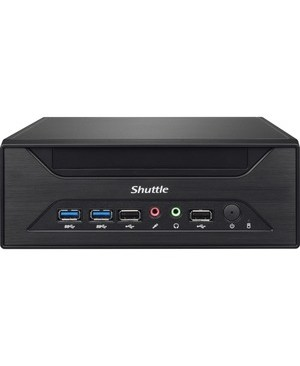 Shuttle Computer XH110 3.5L LGA1151 I3/I5/I7 SUP 4K MAX 16GB NO CPU RAM HD