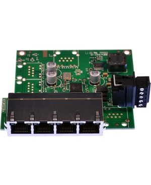 Brainboxes EMBEDDED 4PORT ETHERNET SWITCH TEMPERATURE RANGE OF -40F TO +176F