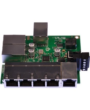 Brainboxes EMBEDDED 8PORT ETHERNET SWITCH TEMPERATURE RANGE OF -40F TO +176F