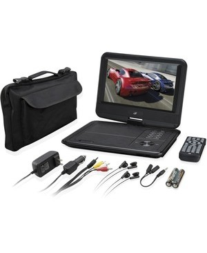 Dpi Inc/Gpx-Personal & Portable PORTABLE DVD PLAYER 9IN LCD PORTABLE CINEMA ON-THE-GO-POWER