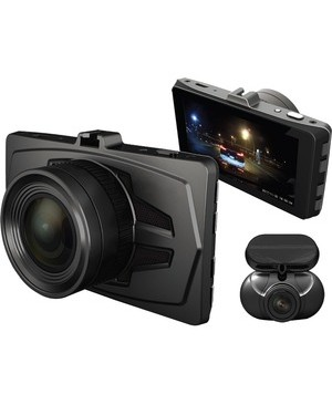 Rsc Labs DUDUO E1 DASHCAM DUALCHANNEL HD SONY STARVIS 3IN LCD W/PARKING MODE