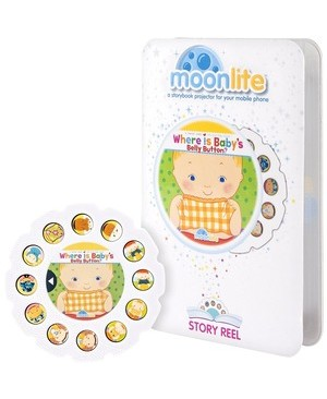 Spin Master MOONLITE STORY REEL WHERE IS BABY BELLY
