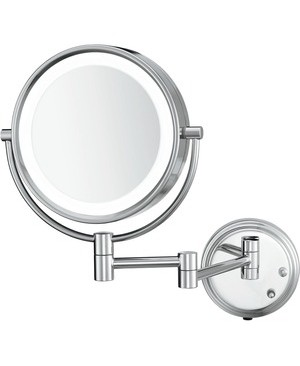 Conair Hospitality LED LIGHTED WALL-MOUNT MIRROR TWO-SIDED