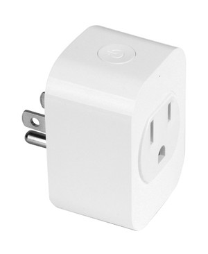 Aluratek Inc SMART WRLS OUTLET PLUG ALEXA GOOGLE IFTTT IOS/ANDROID