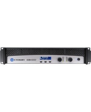 Crown CDi 6000 Amplifier - 4200 W RMS - 2 Channel - 20 Hz to 20 kHz - 1700 W - USB TWO CHANNEL 2100W 4 70V 100V 140V
