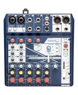 Harman Pro SOUNDCRAFT NOTEPAD 8-FX SMALL-FORMAT ANALOG MIXER
