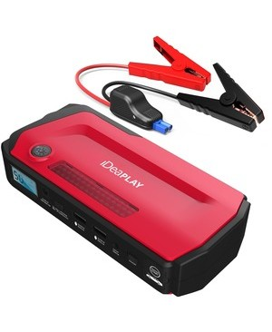 Idea Electronics IDEAPLAY CAR JUMP STARTER RED PORTABLE CHARGER AND CAR STARTER