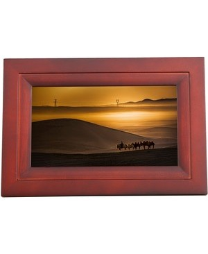 Idea Electronics IDEA WIFI 7IN DIGITAL PHOTO FRAME ESPRESSO TOUCH SCREEN