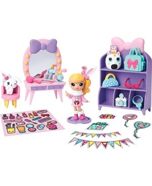 Spin Master SPIN MASTER PARTY POP GIRLS PARTY SURPRISE BOX ANIMLHAYDEN