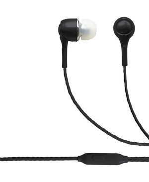 Esi Cases BLAUPUNKT BRAND WIRED EARBUDS WITH MIC BLACK