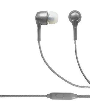 Esi Cases BLAUPUNKT BRAND WIRED EARBUDS WITH MIC SILVER