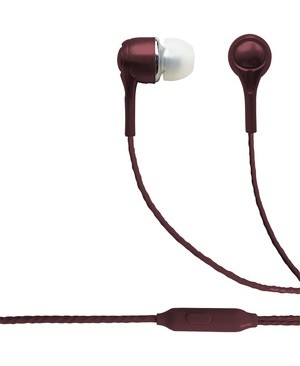Esi Cases BLAUPUNKT BRAND WIRED EARBUDS WITH MIC BURGUNDEY