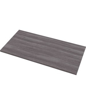Fellowes FELLOWES LEVADO LAMINATE TABLE TOPGRAYASH48INX24INHPL RECTANGLETOP