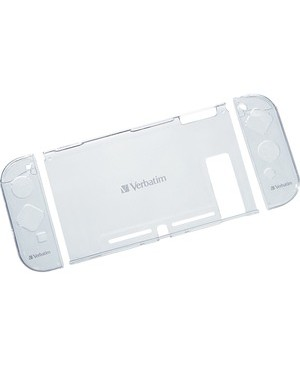 Verbatim Corporation CRYSTAL CASE WITH SCREEN PROT FILM FOR USE WITH NINTENDO SWITCH