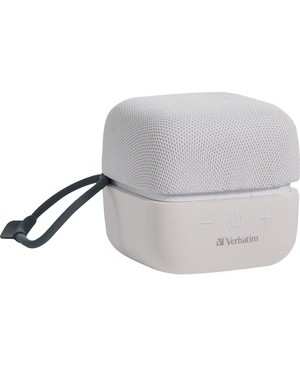 Verbatim Corporation WIRELESS CUBE BLUETOOTH SPEAKER WHITE