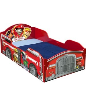 Delta Children DELTA CHILDREN WOOD TODDLER BED NICK JR. PAW PATROL