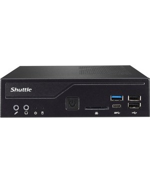 Shuttle Computer DH310S BB SLIM 1.3L INTEL H310C COFFEE LAKE LGA 1151 NO CPU RAM HDD