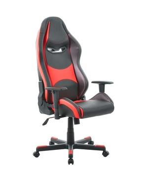 Battery Technology Inc. ULTRA GAMING CHAIR RED/BLACK PREMIUM PU LEATHER GC-0015