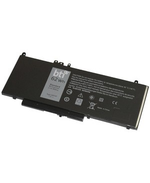 Battery Technology Inc. LI-POLY 4 CELL 7.6V BATTERY FOR DELL E5470 E5570 6MT4T 451-BBTX BAT