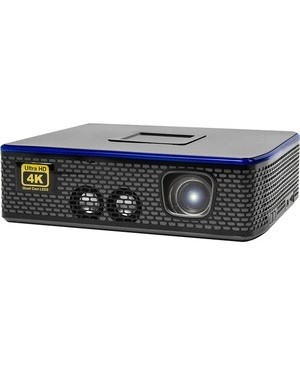 Aaxa-Projectors 4K1 LED MINI PROJ 1500L 4K UHD HDMIX2 USB TF AV 30K HRS LED 1.7KG