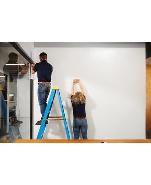 3m - Workspace Solutions 4FTX8FT WHITE FLEX WRITE DRY ERASE SURFACE