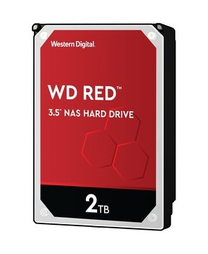Western Digital-Desktop Single 2TB CAVIAR RED 256MB 3.5IN