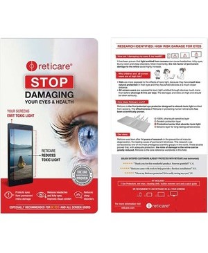 Reticare 2PK US RETICARE EYE PROTECTOR FOR IPHONE X MAX 6.5