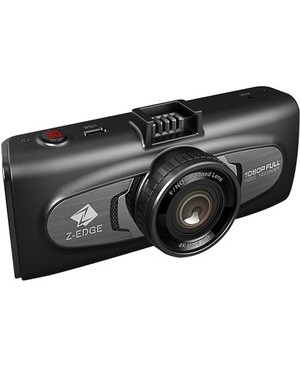 Idea Electronics Z-EDGE 1080P 2.7IN DUAL LENS DASH CAM GPS/ INFRARED NIGHT VISION