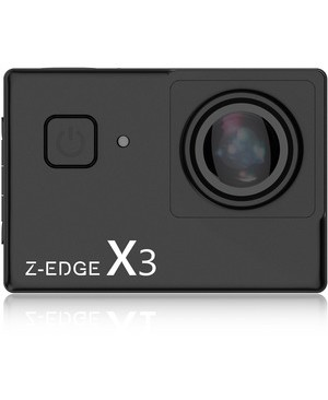 Idea Electronics Z-EDGE 4K TOUCH SCREEN ACTION CAMERA 16GB SD CARD INCLUDED