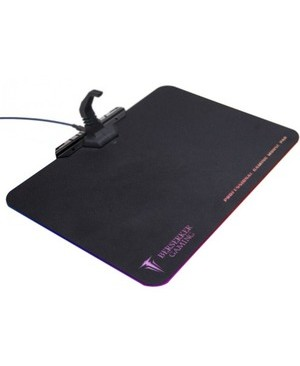 Syba Multimedia Inc RGB HARD SURFACE MOUSE PAD MOUSE CABLE BUNGEE MANAGEMENT