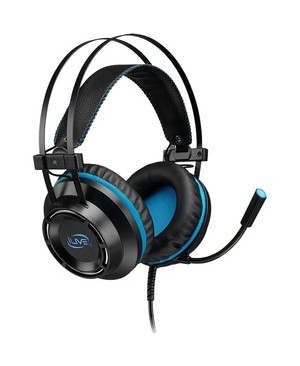 iLive Gaming Headset: Stereo Headphones (IAHG39B) - Stereo - Mini-phone - Wired - 20 Ohm - 20 Hz - 20 kHz - Over-the-head - Binaural - Circumaural - 7.20 ft Cable - Black PLAYSTATION XBOX ONE