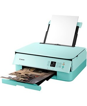Canon - Soho And Ink PIXMA TS5320 GREEN PRINTER WRLS INKJET ALL-IN-ONE PRINTER