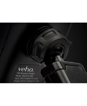 Veho TA-8 IN-CAR SMARTPHONE CRADLE WITH QI WRLS FAST CHARGING