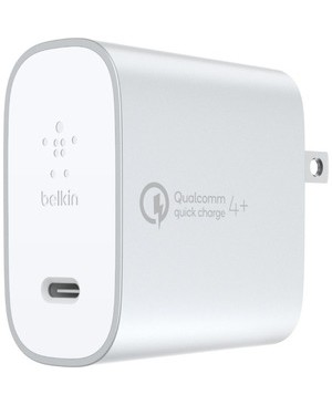 Belkin Mobile QC 4+ USB-C AC CHARGER 27W 4 USB-C TO USB-C SLV