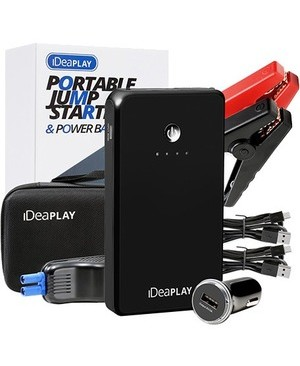 Idea Electronics IDEAPLAY J6 PORTABLE CHARGER JUMP AND CAR STARTER