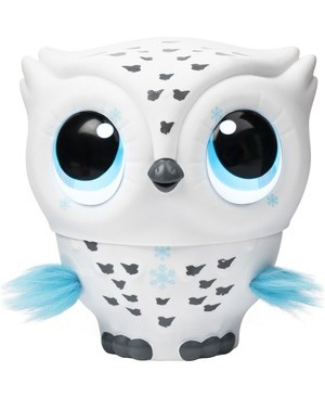 Spin Master OWLEEZ FLYING BABY OWL  WHITE INTERACTIVE W/ LIGHTS & SOUNDS