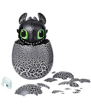 Spin Master DREAMWORKS DRAGONS HATCHING TOOTHLESS INTERACTIVE BABY DRAGON