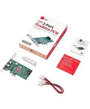 Siig Inc DP 2-PORT FIREWIRE PCIE DP PCI EXPRESS FIREWIRE 400 ADAPTER