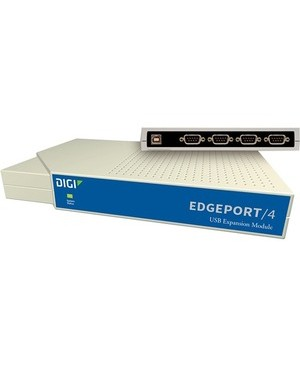 Digi Edgeport/4 Serial Hub - External - USB Type A - Linux, PC - 4 x Number of Serial Ports External RS232 TO USB CONVERTER