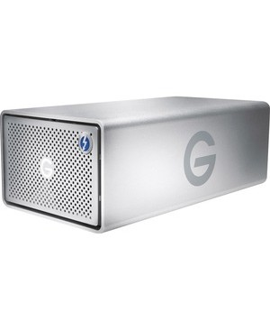 G-Technology G-RAID with Thunderbolt 3 Dual-drive Storage System - 2 x HDD Supported - 36 TB Supported HDD Capacity - 2 x HDD Installed - 36 TB Installed HDD Capacity - RAID Supported 0, 1, JBOD - 2 x Total Bays - HDMI - 1 USB Port(s) - Desktop THUNDERBOLT3 SILVER NA