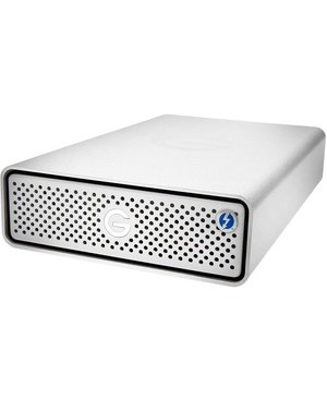 G-Technology G-DRIVE 18 TB Desktop Hard Drive - External - Thunderbolt 3, USB 3.1 (Gen 1) Type C - 7200rpm - 5 Year Warranty SILVER NA